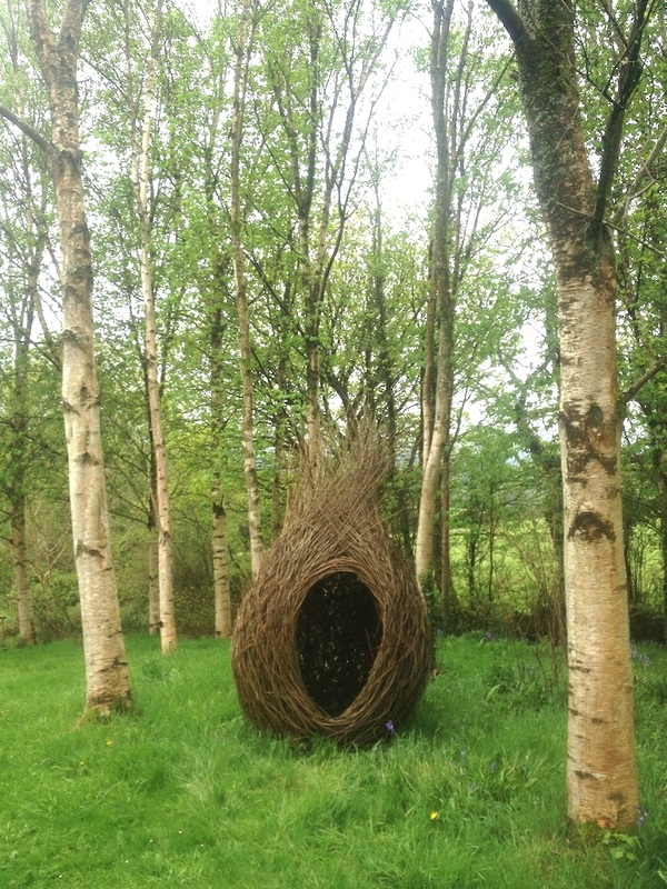 Willow meditation pod katherine miles willow artist come and see an example at my exhibition at stone lane gardens chagford devon meditation pod 800 workwithnaturefo